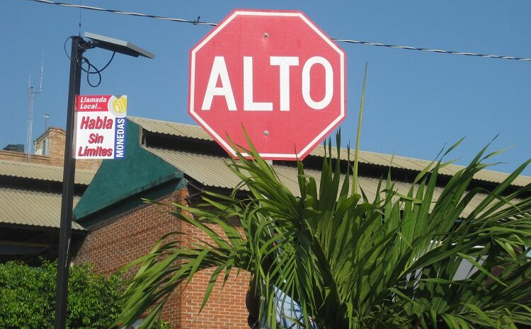 To Stop or Not to Stop – Stop sign etiquette in Mexico